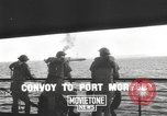 Image of bombing of Port Moresby by Japanese Port Moresby Papua New Guinea, 1942, second 9 stock footage video 65675057629