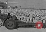 Image of Betty Grable at Army Camp Pacific Theater, 1942, second 6 stock footage video 65675057630