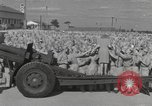 Image of Betty Grable at Army Camp Pacific Theater, 1942, second 7 stock footage video 65675057630