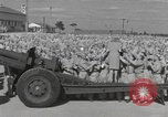 Image of Betty Grable at Army Camp Pacific Theater, 1942, second 9 stock footage video 65675057630