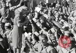 Image of Betty Grable at Army Camp Pacific Theater, 1942, second 10 stock footage video 65675057630