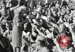 Image of Betty Grable at Army Camp Pacific Theater, 1942, second 11 stock footage video 65675057630