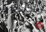 Image of Betty Grable at Army Camp Pacific Theater, 1942, second 12 stock footage video 65675057630