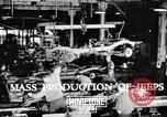 Image of Mass Production of Jeeps at Willys-Overland factory  Toledo Ohio United States USA, 1942, second 2 stock footage video 65675057632