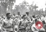 Image of American entertainers Bougainville Island Papua New Guinea, 1944, second 4 stock footage video 65675057648