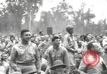 Image of American entertainers Bougainville Island Papua New Guinea, 1944, second 5 stock footage video 65675057648