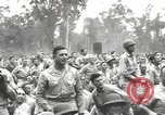 Image of American entertainers Bougainville Island Papua New Guinea, 1944, second 6 stock footage video 65675057648