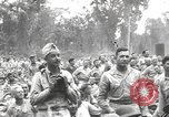 Image of American entertainers Bougainville Island Papua New Guinea, 1944, second 8 stock footage video 65675057648