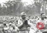 Image of American entertainers Bougainville Island Papua New Guinea, 1944, second 9 stock footage video 65675057648