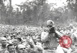 Image of American entertainers Bougainville Island Papua New Guinea, 1944, second 10 stock footage video 65675057648
