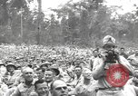 Image of American entertainers Bougainville Island Papua New Guinea, 1944, second 11 stock footage video 65675057648