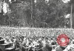 Image of American entertainers Bougainville Island Papua New Guinea, 1944, second 2 stock footage video 65675057650
