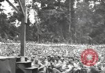 Image of American entertainers Bougainville Island Papua New Guinea, 1944, second 7 stock footage video 65675057650