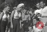 Image of American entertainers Guadalcanal Solomon Islands, 1944, second 2 stock footage video 65675057659