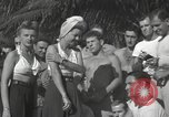 Image of American entertainers Guadalcanal Solomon Islands, 1944, second 4 stock footage video 65675057659