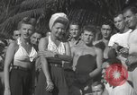 Image of American entertainers Guadalcanal Solomon Islands, 1944, second 5 stock footage video 65675057659