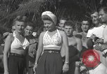 Image of American entertainers Guadalcanal Solomon Islands, 1944, second 6 stock footage video 65675057659