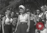Image of American entertainers Guadalcanal Solomon Islands, 1944, second 7 stock footage video 65675057659