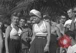 Image of American entertainers Guadalcanal Solomon Islands, 1944, second 8 stock footage video 65675057659