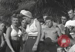 Image of American entertainers Guadalcanal Solomon Islands, 1944, second 9 stock footage video 65675057659