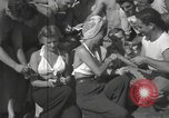 Image of American entertainers Guadalcanal Solomon Islands, 1944, second 10 stock footage video 65675057659