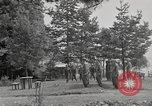 Image of rest camp Gstadt Germany, 1945, second 8 stock footage video 65675057660