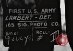 Image of rest camp Gstadt Germany, 1945, second 3 stock footage video 65675057662