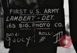 Image of rest camp Gstadt Germany, 1945, second 5 stock footage video 65675057662