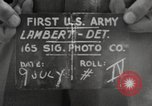 Image of rest camp Gstadt Germany, 1945, second 8 stock footage video 65675057662