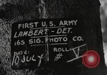 Image of rest camp Gstadt Germany, 1945, second 6 stock footage video 65675057663