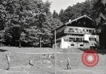 Image of rest camp Gstadt Germany, 1945, second 10 stock footage video 65675057663