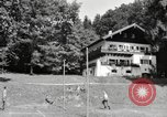 Image of rest camp Gstadt Germany, 1945, second 11 stock footage video 65675057663