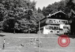 Image of rest camp Gstadt Germany, 1945, second 12 stock footage video 65675057663