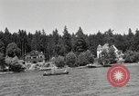 Image of rest camp Gstadt Germany, 1945, second 7 stock footage video 65675057664