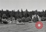 Image of rest camp Gstadt Germany, 1945, second 8 stock footage video 65675057664