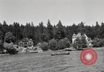Image of rest camp Gstadt Germany, 1945, second 11 stock footage video 65675057664