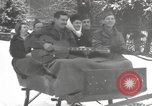 Image of rest camp Bains-Le-Bains France, 1945, second 8 stock footage video 65675057666