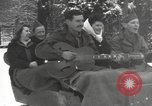 Image of rest camp Bains-Le-Bains France, 1945, second 9 stock footage video 65675057666