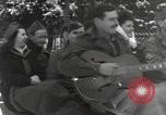 Image of rest camp Bains-Le-Bains France, 1945, second 10 stock footage video 65675057666
