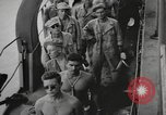 Image of American soldiers Pacific Ocean, 1944, second 2 stock footage video 65675057671