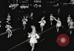 Image of Hollywood Christmas parade Hollywood Los Angeles California USA, 1940, second 10 stock footage video 65675057680