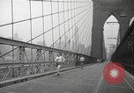 Image of walking race New York United States USA, 1940, second 12 stock footage video 65675057684
