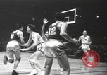Image of basketball game New York United States USA, 1940, second 7 stock footage video 65675057685