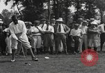 Image of American golfer Walter Hagen ready to tee off Europe , 1920, second 10 stock footage video 65675057700
