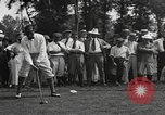Image of American golfer Walter Hagen ready to tee off Europe , 1920, second 11 stock footage video 65675057700