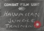 Image of jungle warfare Hawaii USA, 1944, second 4 stock footage video 65675057710