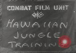 Image of jungle warfare Hawaii USA, 1944, second 11 stock footage video 65675057710