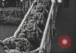 Image of invasion of Tarawa Pacific Ocean, 1944, second 10 stock footage video 65675057714