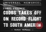 Image of Paul Codos Paris France, 1937, second 5 stock footage video 65675057736
