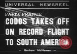 Image of Paul Codos Paris France, 1937, second 6 stock footage video 65675057736